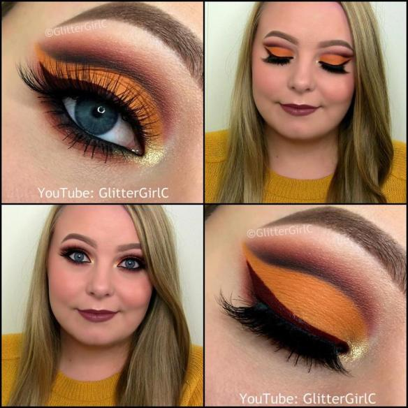 Thanksgiving makeup look 2015