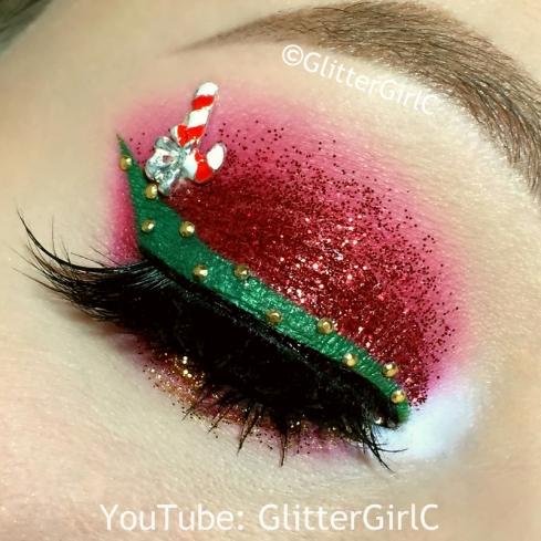 Christmas makeup 2015