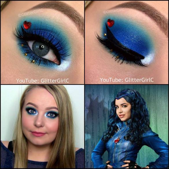 Descendants Evie makeup