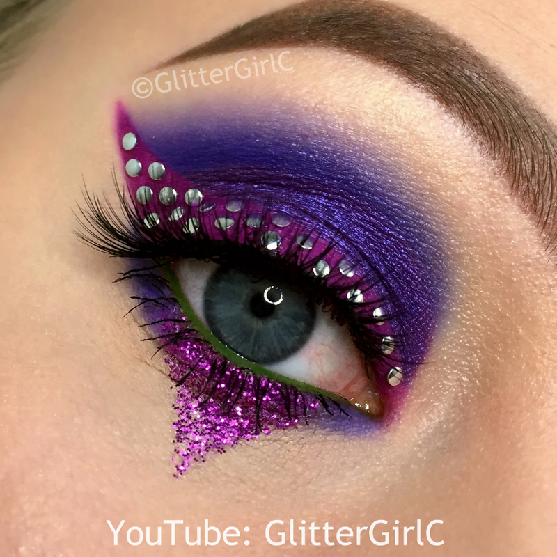 Descendants Mal Makeup Glittergirlc