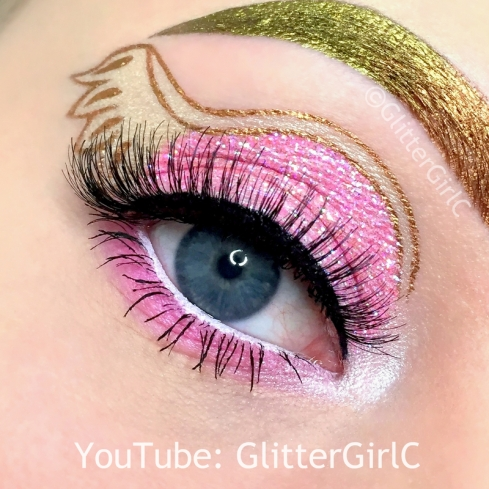 Ever After High C.A Cupid Makeup look