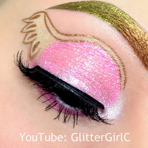 Ever After High C.A Cupid Makeup look 2 igjen