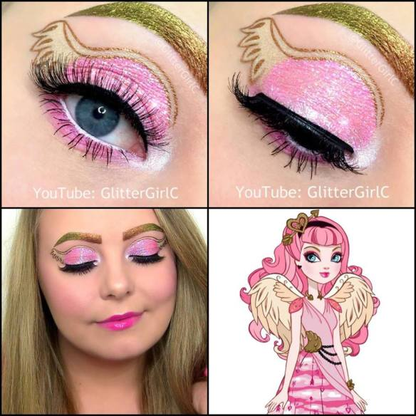 Ever After High C.A Cupid Makeup