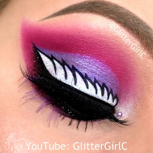 Ever After High Raven Queen makeup