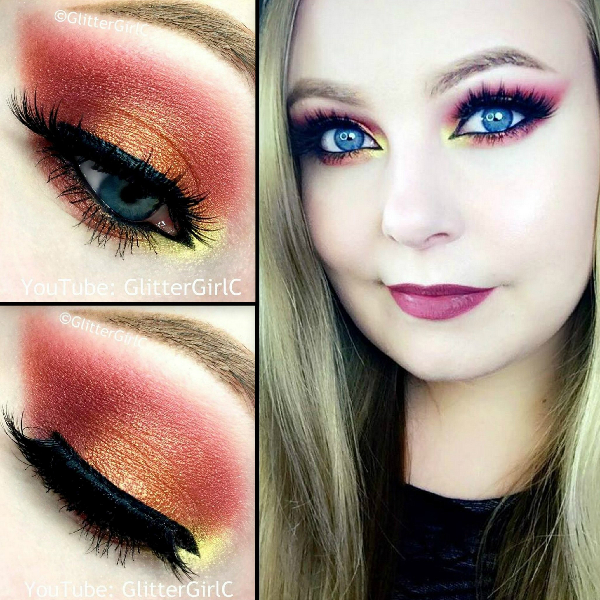 Kat Von D Mi Vida Loca Makeup Look Glittergirlc