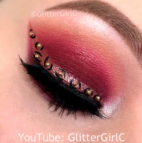 Mannymua makeup geek palette look