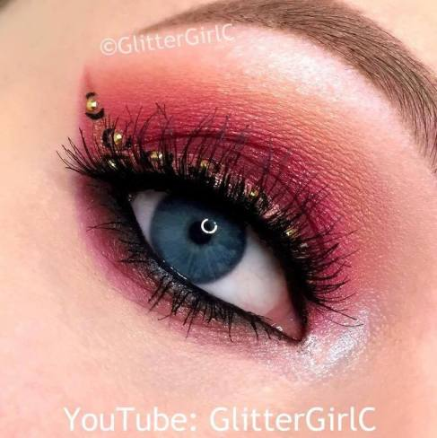 mannymua makeup geek palette look