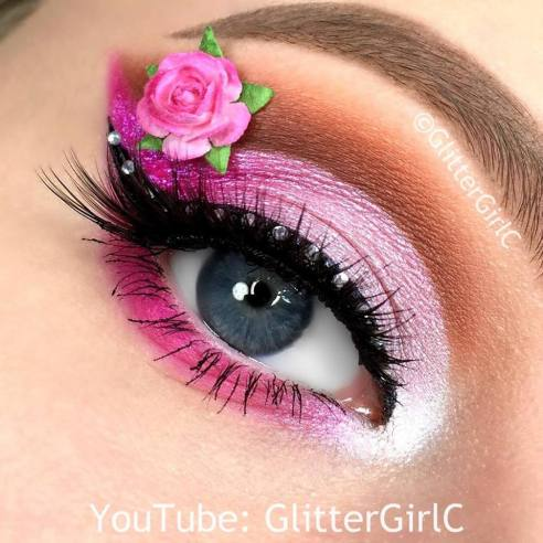 Ever After High Briar Beauty Makeup look