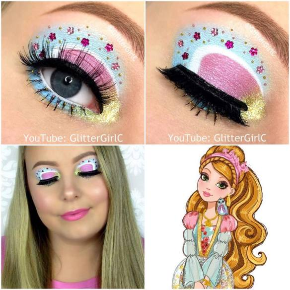 Ever After High Ashlynn Ella makeup