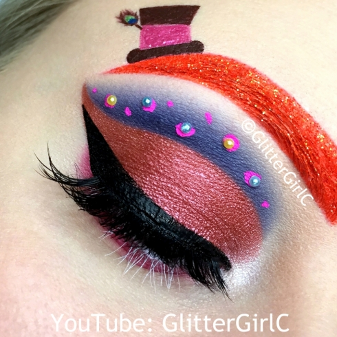 Mad Hatter Makeup look