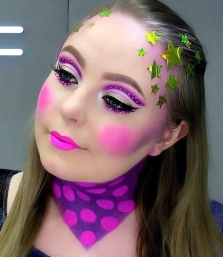 MAC Cosmetics Nutcracker Sweet Makeup Look