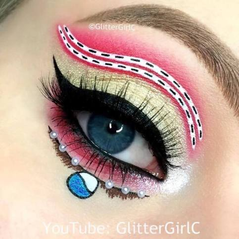 Glittergirlc Makeup By Cecilie A