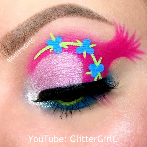 Trolls Poppy Makeup