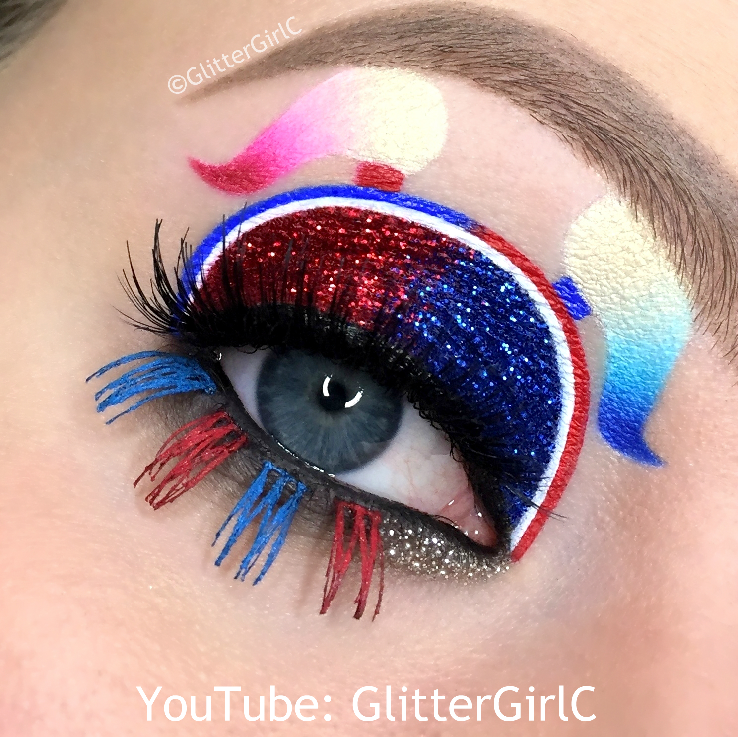 Harley Quinn From Suicide Squad Makeup D Glittergirlc