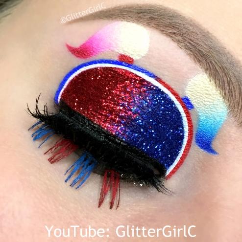 Harley Quinn makeup