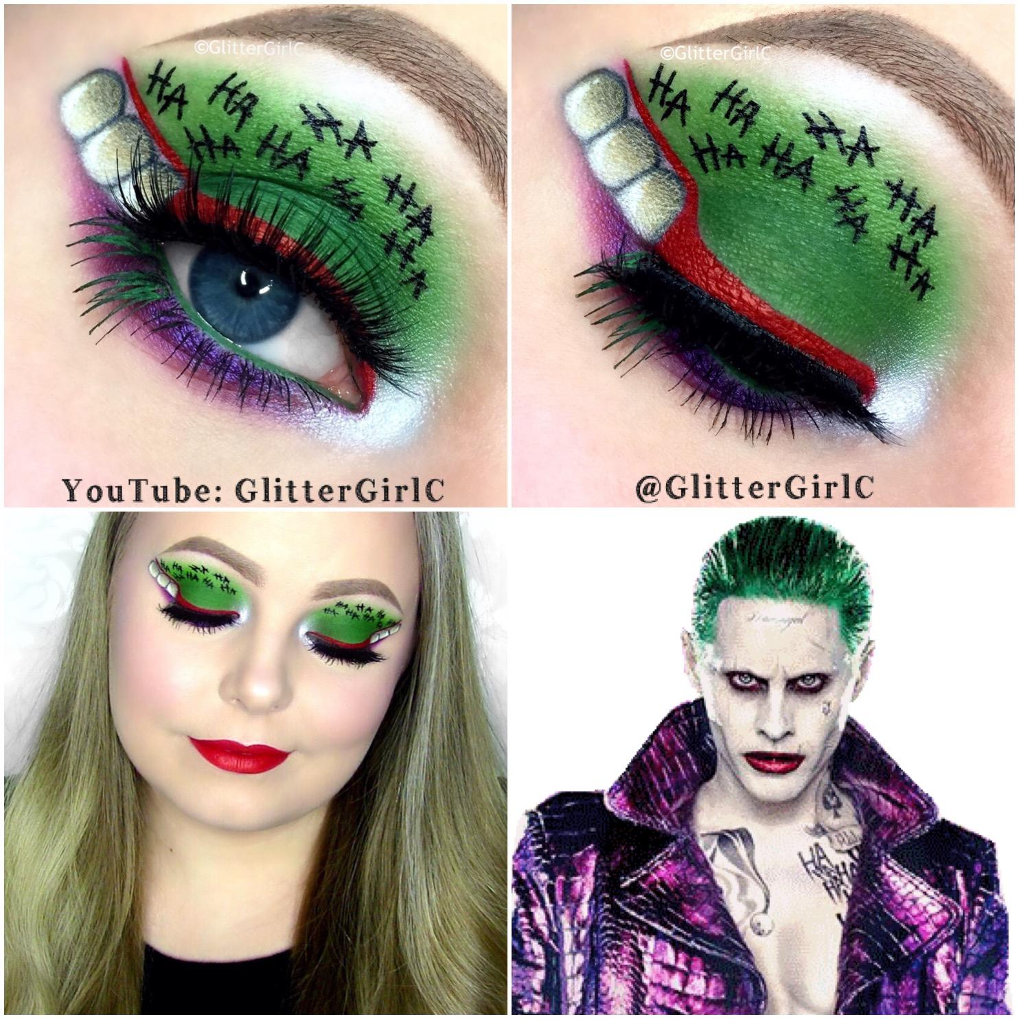 The Joker Suicide Squad Makeup