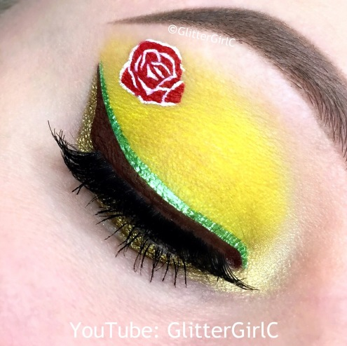 Beauty and the beast belle makeup